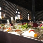 Medieval dinner at Chillon castle, Montreux (Switzerland)