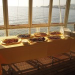 Chocolate and food tasting on boat (Switzerland)