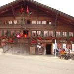 Lunch at the Bären near Gstaad (Switzerland)