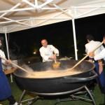 Gala dinner at Piccolo Lago, Lake Mergozzo (Italy)