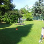 Archery Games, Beau Rivage Palace, Lausanne (Switzerland)