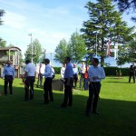 Archery Games, Beau Rivage Palace, Lausanne (Switzerland)
