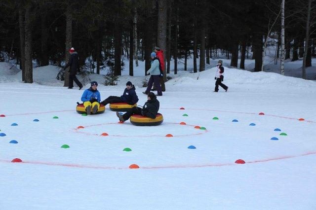 Destinalp Winter Games In Chamonix France