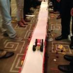 Bridge building - what a great teambuilder event