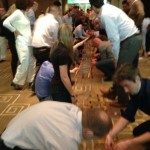 Bridge building - what a great teambuilder event