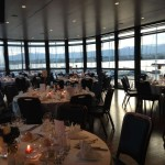 "Dinner at Yacht Club ""La Nautique"" in Geneva"