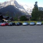 Road Rally in the Swiss Alps